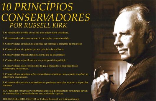 Os 10 princípios conservadores