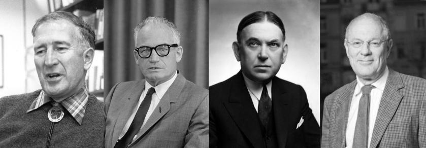 Antony Flew, Barry Goldwater, Henry Louis Mencken e Theodore Dalrymple são exemplos de homens que mantiveram posições conservadoras sem filiação religiosa.