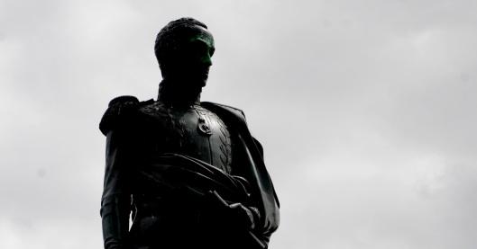 Simon Bolivar contrarrevolucionario