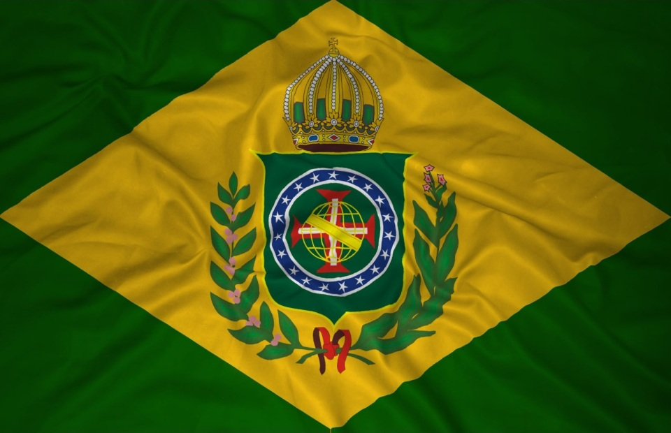 Bandeira usada antes do golpe republicano