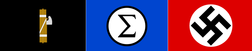 Fasces-Sigma-Swastika