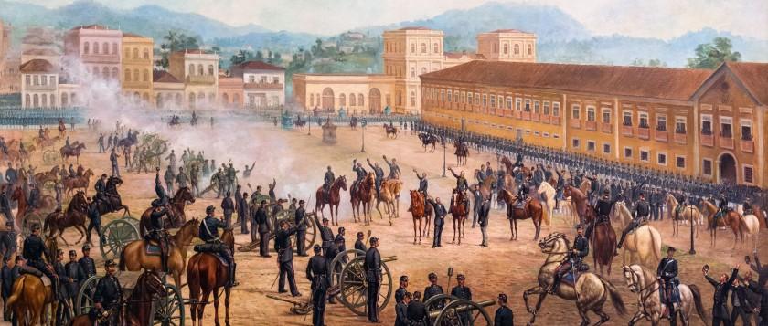 Proclamacao da Republica - 1893 - Benedito Calixto