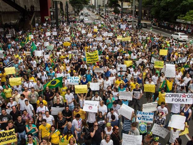 protestos Brasil