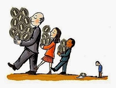 Transferência de riqueza, transferência de renda e igualdade salarial são conceitos imorais