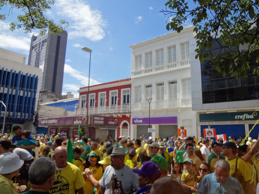 Manifestações e protestos de Março/2016 - Campinas (SP)