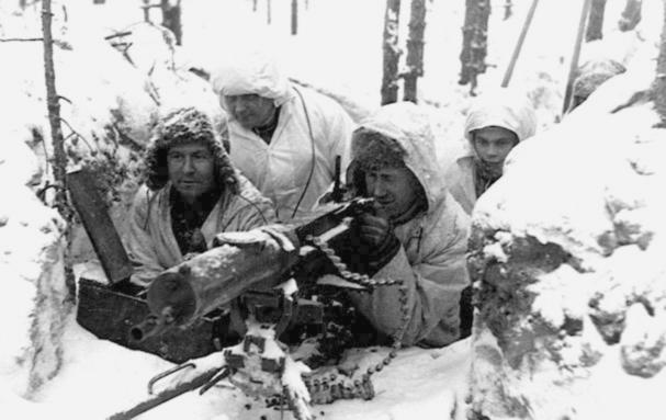 Guerra de Inverno - ninho de metralhadora
