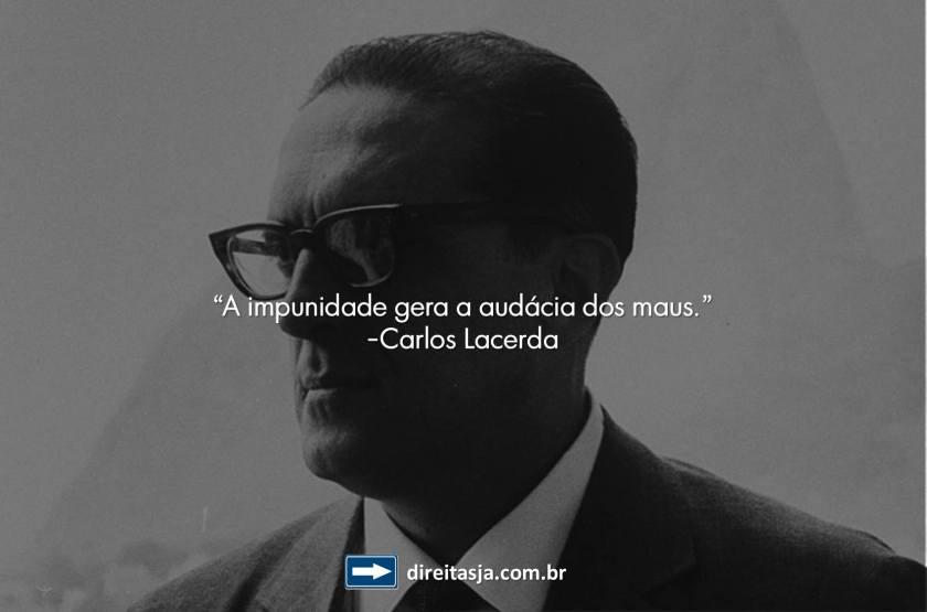 DJ - Carlos Lacerda -Impunidade