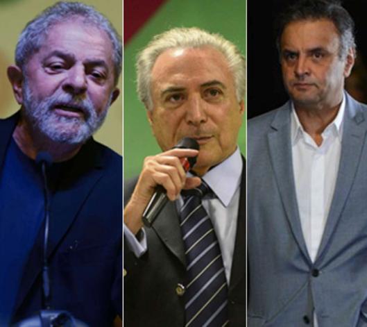 Lula-Temer-Aécio