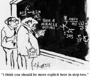 THEN A MIRACLE OCCURS